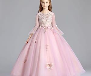tulle dress, 2019, and blushing pink dress image