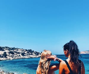 adventure, best friends, and Greece image