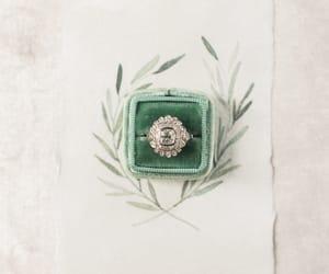 diamond ring, fashion, and jewelry image