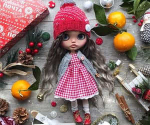 dolls, holidays, and winter image