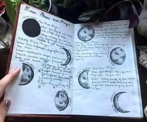 moon, magic, and spells image