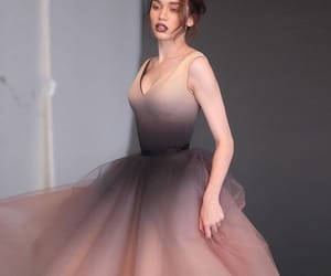 dress, evening, and Prom image