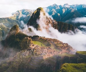 15th century, machu picchu, and inca citadel image