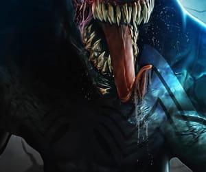 Marvel, symbiote, and venom image