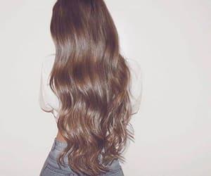 hair, girl, and beleza image