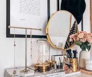 beauty, dresser, and makeup image
