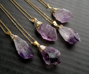 amethyst, neklace, and gift ideas image