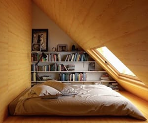 book, room, and window image