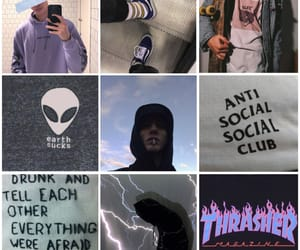 aesthetic, alien, and antisocial image