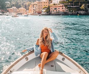 boat, fashion, and summer image