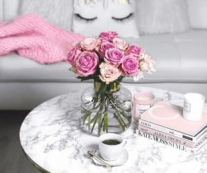 rose, flowers, and home image