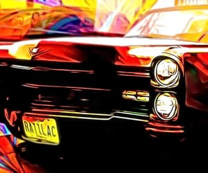 altered, cadillac, and retro image