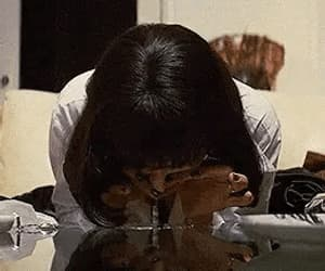 party, pulp fiction, and gif image