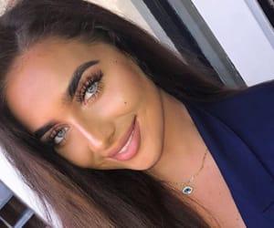 fashion style, make up makeup, and brune brunette image