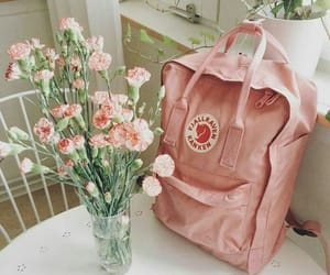 flowers, pink, and kanken image