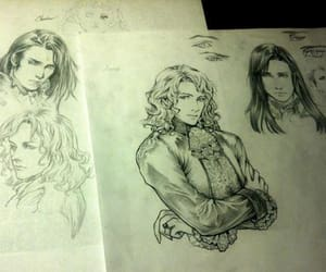 art, drawing, and Interview with the Vampire image