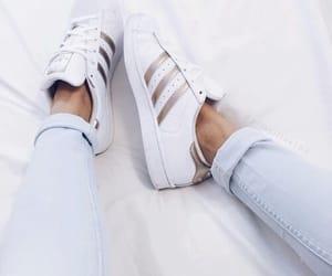 adidas, white, and photography image
