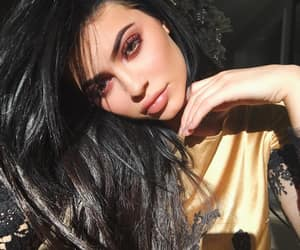 accessories, dark hair, and eyebrows image