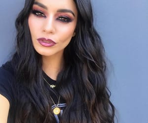 accessories, brown eyes, and dark hair image