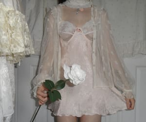 pale, aesthetic, and lace image