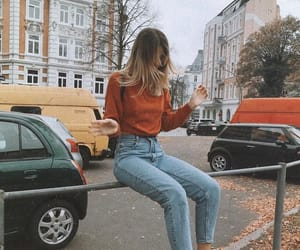 autumn, style, and beauty image