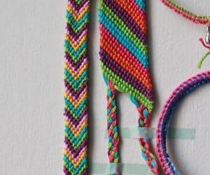 bracelet, colors, and hippie image