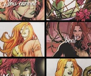 dc comics, pamela isley, and poison ivy image