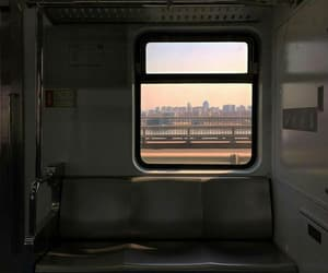 aesthetic, train, and travel image
