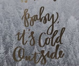 winter, christmas, and wallpaper image