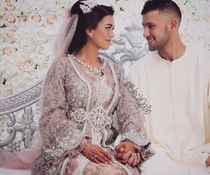 allah, arabic, and wedding image