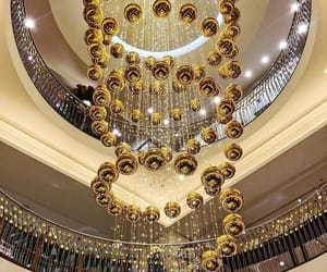 aesthetics, chandelier, and glam image