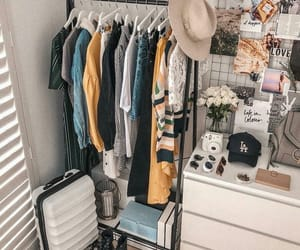 home, room, and clothes image