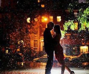 amor, silueta, and love image