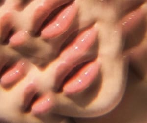 lips, aesthetic, and pink image