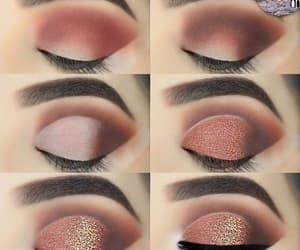 eyebrows, eyeshadow, and glitter image