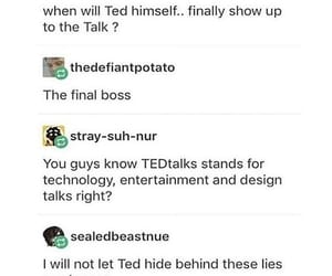 Where is Ted?