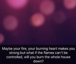 burn, fire, and pink image