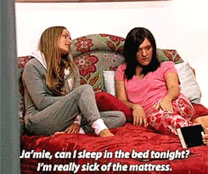 gif, chris lilley, and private school girl image