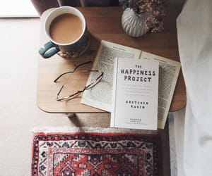 books, bookworm, and coffee image
