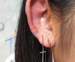 color, cute, and ear image