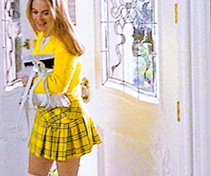 Clueless, gif, and outfit image