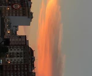 pretty, sunset, and sun image