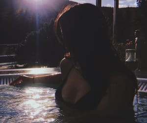 bikini, fashion, and relaxation image