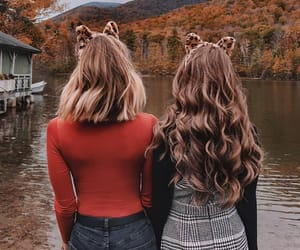 style, autumn, and beauty image