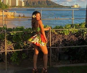 beach, beauty, and legs image