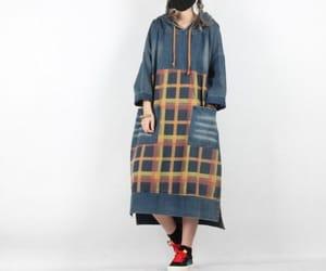etsy, oversize dress, and asymmetrical dress image