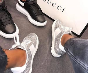 gucci, luxury, and sneakers image