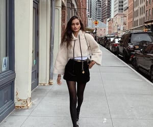 model, fashion, and outfit image