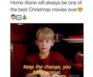 christmas, movies, and home alone image
