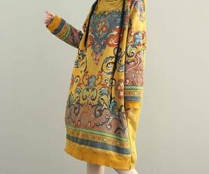 etsy, maxi dress, and cotton dress image